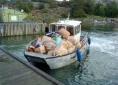 Arbetsbåt  Alaska